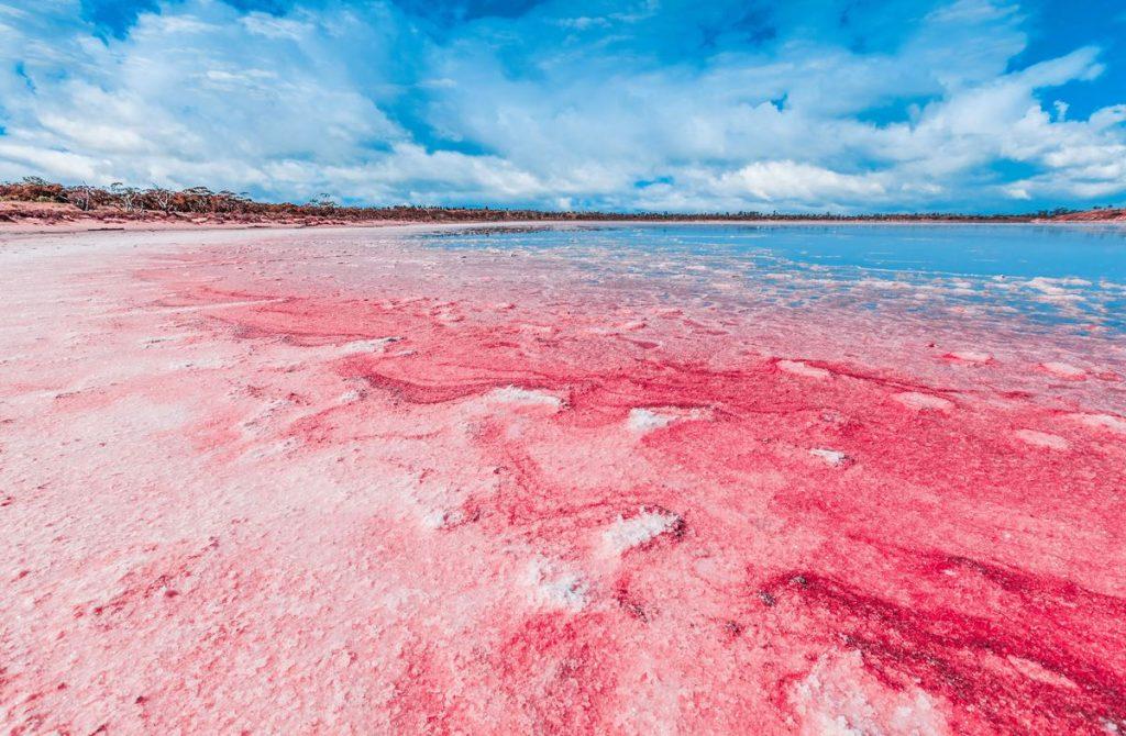 دریاچه هیلیار در استرالیا